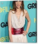Kristen Wiig At Arrivals For Grey Acrylic Print