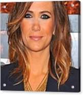 Kristen Wiig In Attendance For The Acrylic Print