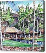 Kukio Estate Acrylic Print