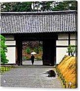 Kyoto Rain Acrylic Print