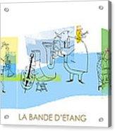 La Bande D'etang Acrylic Print