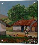 La Dama Del Rio Acrylic Print