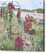 La Maison Et Le Jardin De Monet Acrylic Print