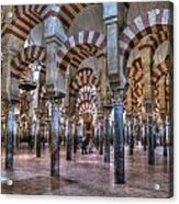 La Mezquita Cordoba Spain Acrylic Print