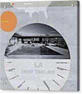La Poster Acrylic Print