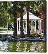 La Quinta Park Summer Acrylic Print