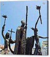 La Rogativa Statue Old San Juan Puerto Rico Acrylic Print