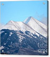 La Sal Mountains 111 Acrylic Print