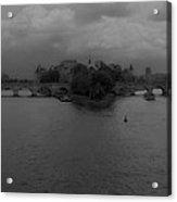 La Seine Dh 3 Acrylic Print
