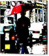 La Sombria Roja Acrylic Print