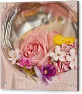 Ladled With Flowers  Acrylic Print