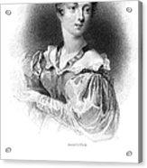Lady Caroline Lamb Acrylic Print