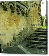 Lady Chapel With Grass Acrylic Print