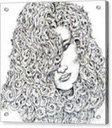 Curls Acrylic Print