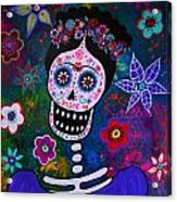 Lady Frida Acrylic Print
