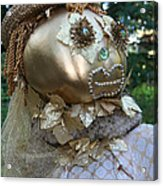 Lady Goldcrow Acrylic Print