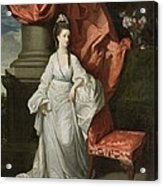 Lady Grant - Wife Of Sir James Grant Acrylic Print