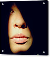 Lady In Darkness Acrylic Print