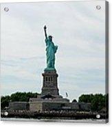 Lady Liberty Acrylic Print by Beverly Hammond