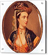 Lady Mary Wortley Montagu Acrylic Print