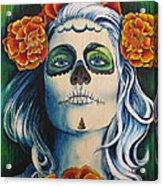 Lady Marygold Acrylic Print