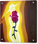 Lady Rose Acrylic Print