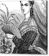 Lady With Fan, C1878 Acrylic Print