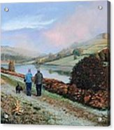 Ladybower Reservoir - Derbyshire Acrylic Print