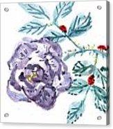 Ladybugs Lunch Date Acrylic Print