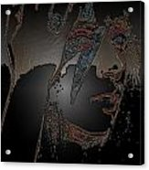 Ladygaga  Acrylic Print