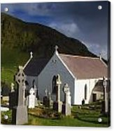 Lagg Church, Inishowen Peninsula, Co Acrylic Print