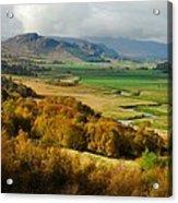 Laggan Autumn - The Clan Mcphersons Seat Acrylic Print by John Kelly