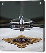 Lagonda Hood Emblem Acrylic Print