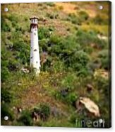 Laguna Beach Light Tower Acrylic Print