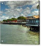 Lahaina Postcard 4 Acrylic Print