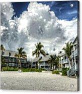 Lahaina Resort In Fort Myers Beach Acrylic Print by Vicki Jauron