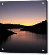 Lake Anderson Sunset Acrylic Print