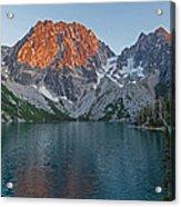 Lake Colchuck Sunset Acrylic Print