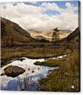 Lake District Reflections Acrylic Print by Justin Albrecht