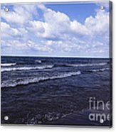 Lake Erie At Evangola State Park 2 Acrylic Print