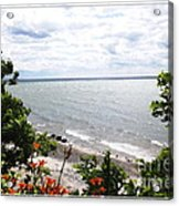 Lake Erie Beach At Sturgeon Point Acrylic Print