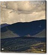 Lake Granby Rocky Mountain National Park Colorado Acrylic Print