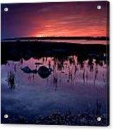 Lake Huron Sunset Acrylic Print