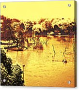 Lake In India Acrylic Print