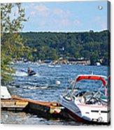 Lake Living 1 Acrylic Print