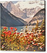 Lake Louise Alberta Acrylic Print