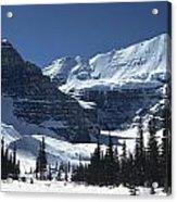 Lake Louise Glacier Acrylic Print
