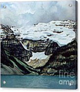 Lake Louise Acrylic Print by Scott Nelson
