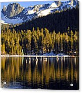 Lake Mary Golden Hour Acrylic Print