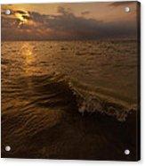 Lake Michigan Sunset Acrylic Print
